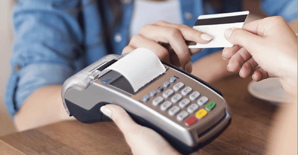 platba kartou na VX520 platobnom termináli